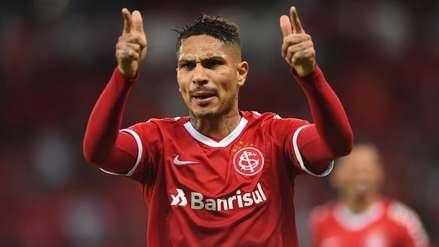Con gol de Paolo Guerrero, Internacional ganó por 2-0 al Avaí en la fecha 7 del Brasileirao