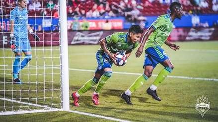 Llega motivado: Raúl Ruidíaz anotó golazo en el partido entre Seattle Sounders y FC Dallas