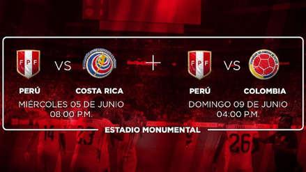 ¡Atención! Hoy es el último día para adquirir el 'Combo Hincha' para los amistosos previos a la Copa América