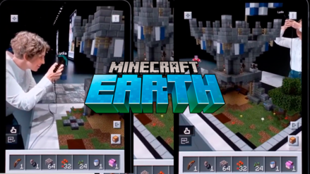 WWDC 2019 | Minecraft Earth presenta asombrosa demo de realidad aumentada
