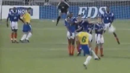 El icónico tiro libre de Roberto Carlos a Francia que desafió las leyes de la física cumple 22 años
