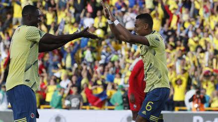El golazo de cabeza de Colombia que abrió el marcador en el amistoso internacional ante Panamá