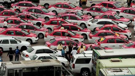 México   Miles de taxistas protestan contra Uber y Didi