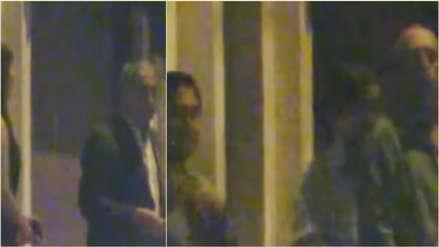 Nueva grabación muestra a Pedro Chávarry salir de casa de César Hinostroza tras una cena