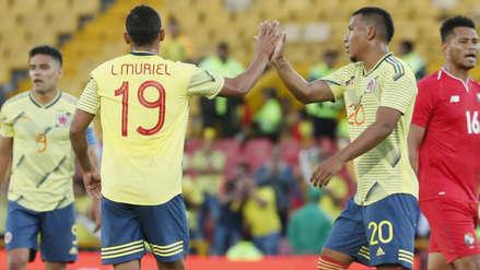 El golazo de Luis Muriel en el amistoso internacional entre Colombia y Panamá