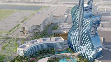 Hard Rock abrirá el primer hotel del mundo con forma de guitarra [VIDEO]