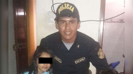 Chiclayo | Policía salvó de la muerte a dos niños en un incendio en su día de franco