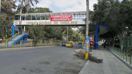 Lambayeque | Aparecen banderolas en apoyo a cuestión de confianza pedida por Martín Vizcarra
