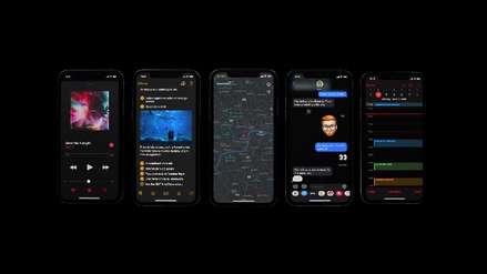iPhone | Así luce el Modo Oscuro en iOS 13