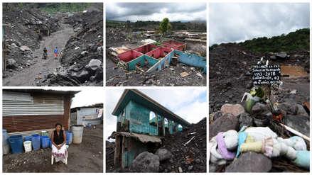 A un año de la tragedia: Así luce la zona devastada por el volcán de Fuego en Guatemala [FOTOS]