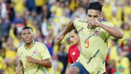 Colombia vs. Panamá: Radamel Falcao marcó GOL de penal con gran definición