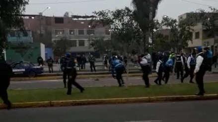 Serenos de San Martín de Porres e Independiencia se enfrentan por problemas limítrofes [VIDEO]