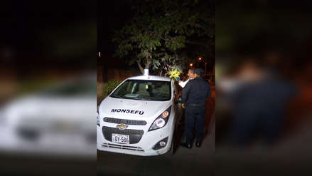 Insólito | Se roban vehículo de serenazgo y lo dejan en un descampado de Chiclayo
