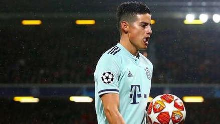 James Rodríguez pidió al Bayern Munich que no compren su pase