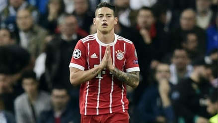 James Rodríguez no sigue en Bayern Munich: Cristiano Ronaldo insiste en llevárselo a Juventus