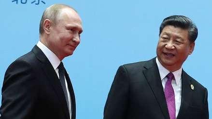 Vladímir Putin y Xi Jinping abordarán este miércoles su relación con EE.UU. y la situación en Venezuela