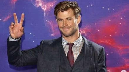 Chris Hemsworth anunció su retiro temporal de Hollywood