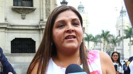 Karina Beteta rechaza la paridad: