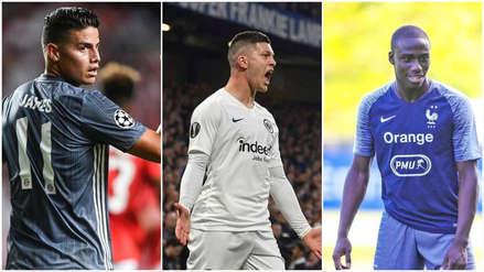 Real Madrid no se duerme: el fichaje de Jovic y el futuro de James Rodríguez