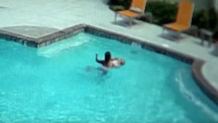 EE.UU. | Una niña salvó a su hermana menor de morir ahogada en una piscina en Georgia
