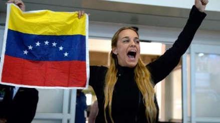 Juan Guaidó dijo que Lilian Tintori está en misión humanitaria en España