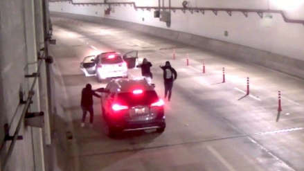 Video   Así fue el asalto a una familia en el túnel de la Línea Amarilla