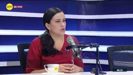 Verónika Mendoza: Si dan el voto de confianza, será para aferrarse a su sueldo y su inmunidad