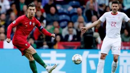 ¡Con bicicleta incluida! Así fue el golazo de Cristiano Ronaldo ante Suiza