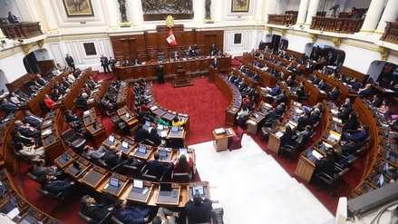 Congreso aprobó cuestión de confianza sobre proyectos de reforma presentados por el Ejecutivo