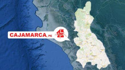 Un sismo de magnitud 3.4 se sintió esta noche en Cajamarca