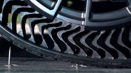 Michelin presenta neumático que no se pincha y buscará ser un estándar a partir del 2024