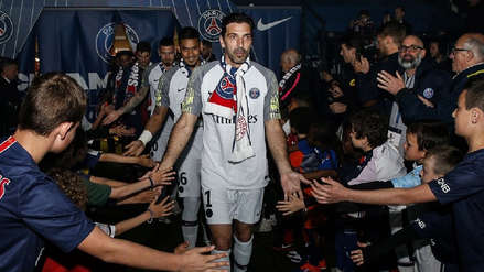 ¡No va más! Gianluigi Buffon deja el PSG tras una temporada