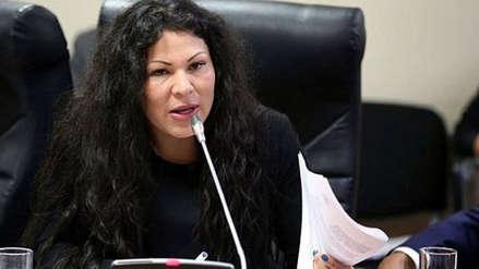 Comisión aprobó informe que recomienda levantar la inmunidad parlamentaria de Yesenia Ponce