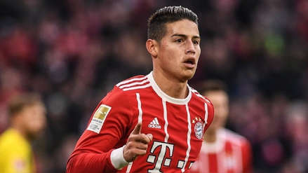 Bayern Munich anunció decisión sobre el futuro de James Rodríguez