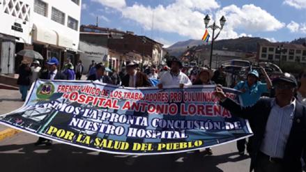 Exigen conclusión de hospital Lorena de Cusco paralizado por actos de corrupción