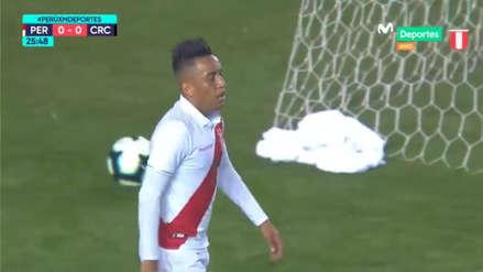 Perú vs. Costa Rica | La gran jugada colectiva que casi acaba en gol de Christian Cueva