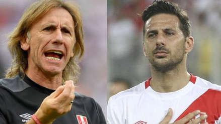 Ricardo Gareca a Claudio Pizarro:
