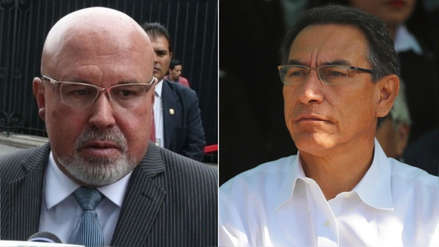Carlos Bruce tras declaración sobre presidente Martín Vizcarra: