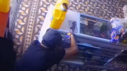 Video: Así robaron 12 mil soles en una tienda mayorista en Trujillo