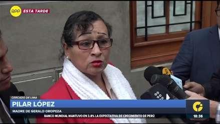 Fiscalía pide 18 meses de prisión preventiva para madre de Gerald Oropeza por lavado de activos