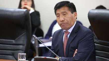 Comisión aprueba informe que recomienda levantar la inmunidad parlamentaria a Moisés Mamani