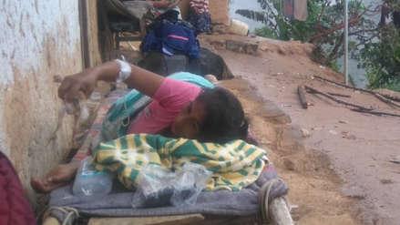 Mujer que dio a luz a mellizas viaja en ambulancia más de 30 horas a Trujillo para ser atendida