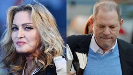 Madonna revela que Harvey Weinstein se le insinuó sexualmente