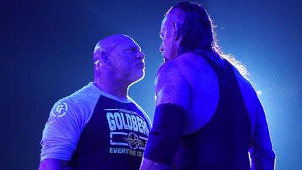 Goldberg y The Undertaker protagonizaron tenso momento previo a su lucha de este viernes