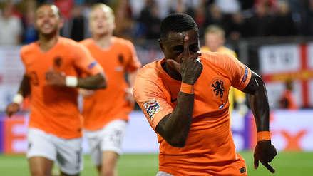 ¡Blooper inglés! Defensa de Inglaterra ocasionó jugada que terminó en gol para Holanda