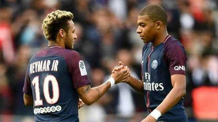 Mbappé animó a Neymar tras el anuncio de su ausencia en la Copa América 2019