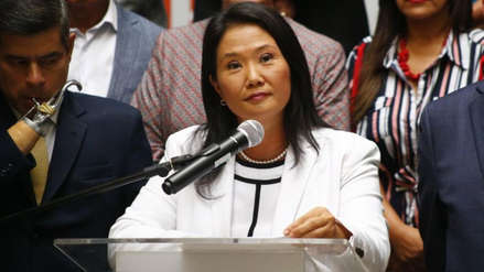 Corte Suprema rechazó recusar a jueces que evaluarán casación de Keiko Fujimori