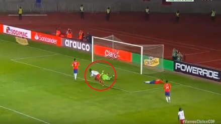 Chile: el gol de Haití que dejó en ridículo a arquero chileno