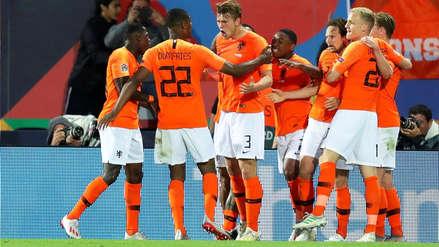 Holanda ganó 3-1 a Inglaterra y pasó a la final de la Liga de Naciones de la UEFA