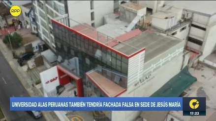 Universidad Alas Peruanas niega haber instalado una pared falsa: